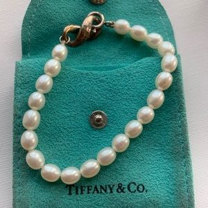 Tiffany & Co. Jewelry - Tiffany Infinity and Pearl Bracelet